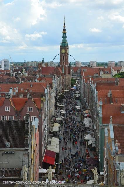 Trójmiasto w 3 częściach - dzień wyjazdu, tłumy na starówce i panorama miasta. (cz.III)