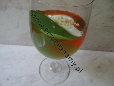 Kolorowy deser