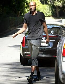 Lamar Odom Pierde Peso Aceleradamente