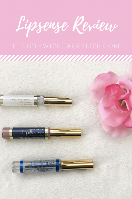 Thrifty Wife, Happy Life || LipSense Review