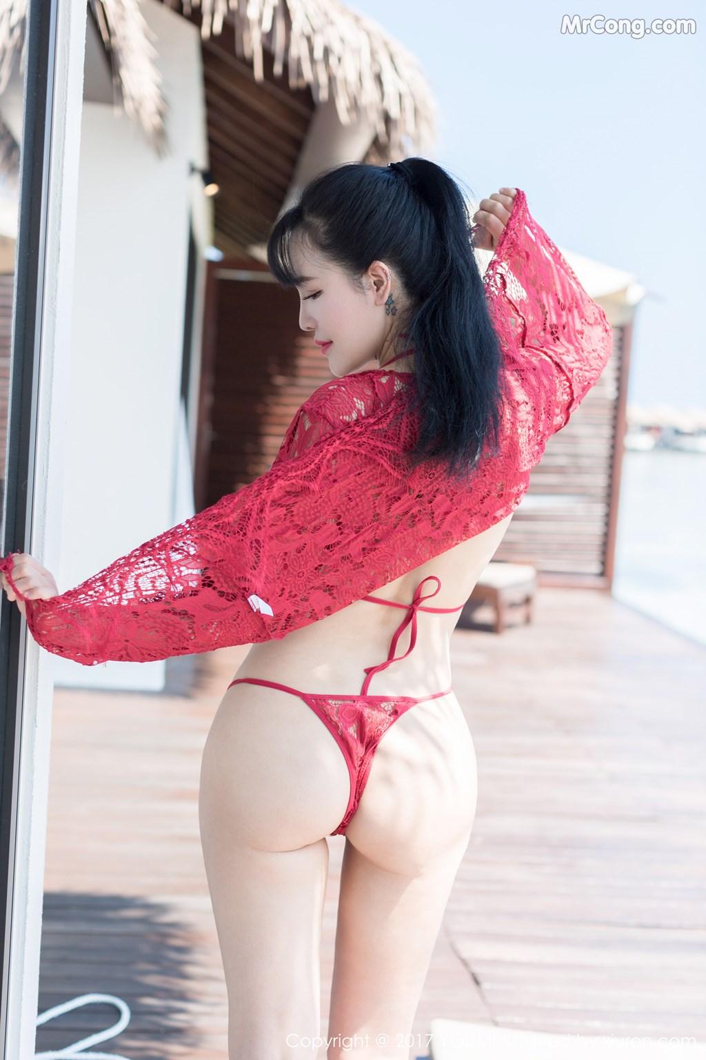 Image YouMi-No.101-Liu-Yu-Er-MrCong.com-010 in post YouMi No.101: Người mẫu Liu Yu Er (刘钰儿) (49 ảnh)