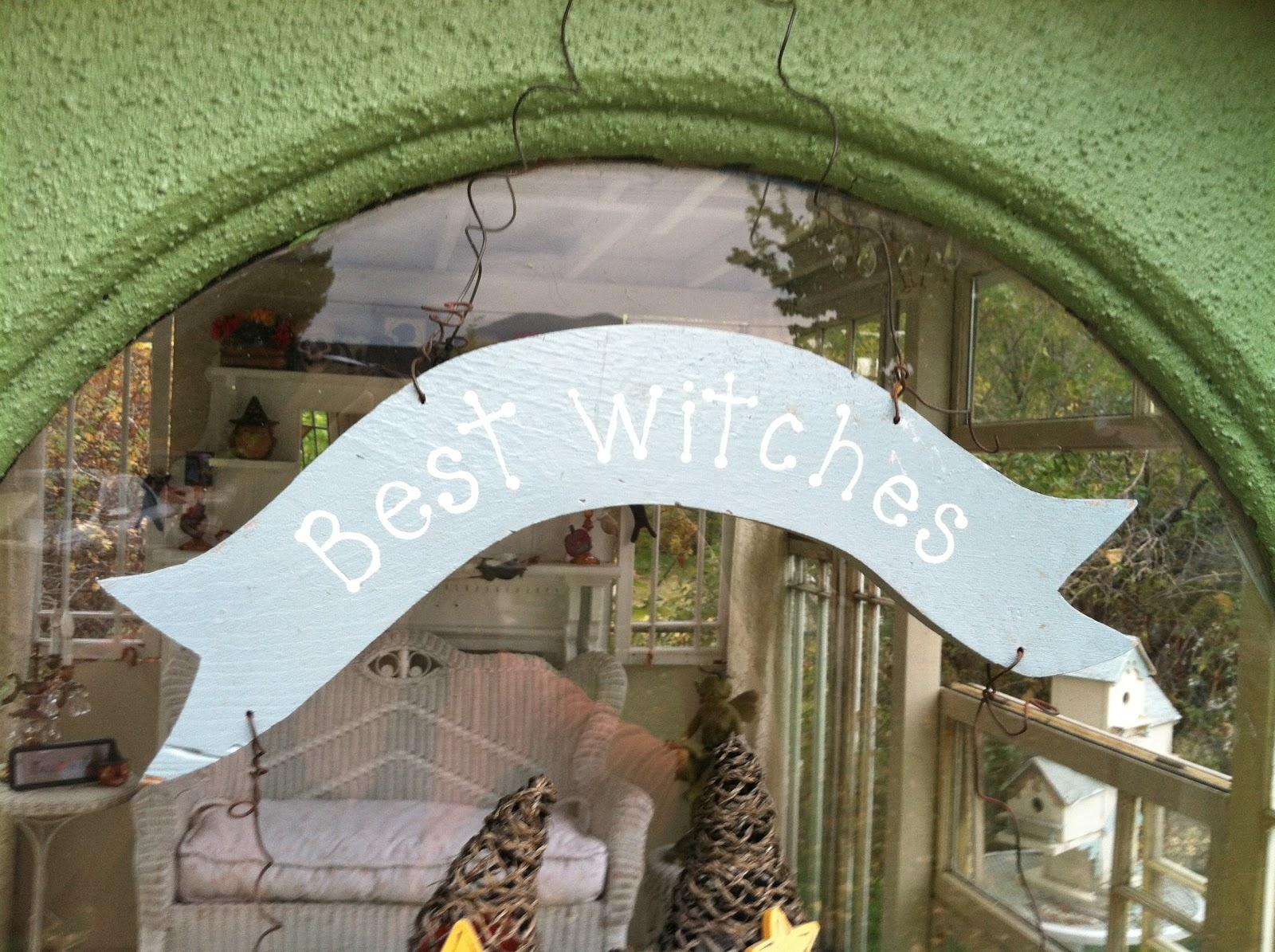 Pollyanna Reinvents: My Garden House Halloween Style!