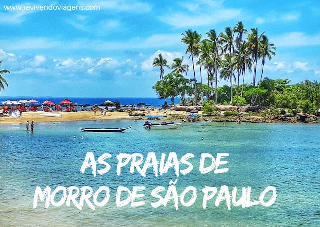 Praia Morro de Sao Paulo Bahia