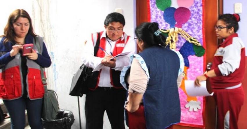 MINEDU e INDECOPI intervienen dos colegios informales en Carabayllo «AllKids» y «Jesús Divino Maestro Redentor» www.minedu.gob.pe