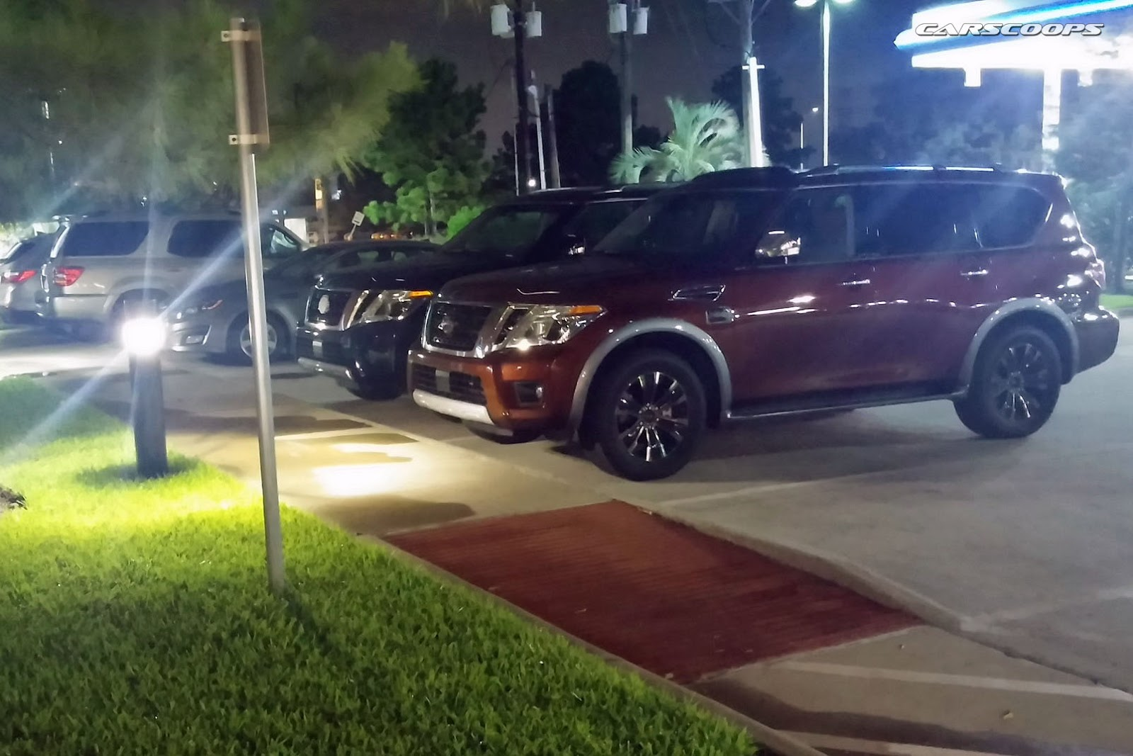 2017 nissan armada snapped by reader hanging out in houston blocking ads can be devastating to sites you love and can result in people losing their jobs and negatively affect the quality of content vanachro Images
