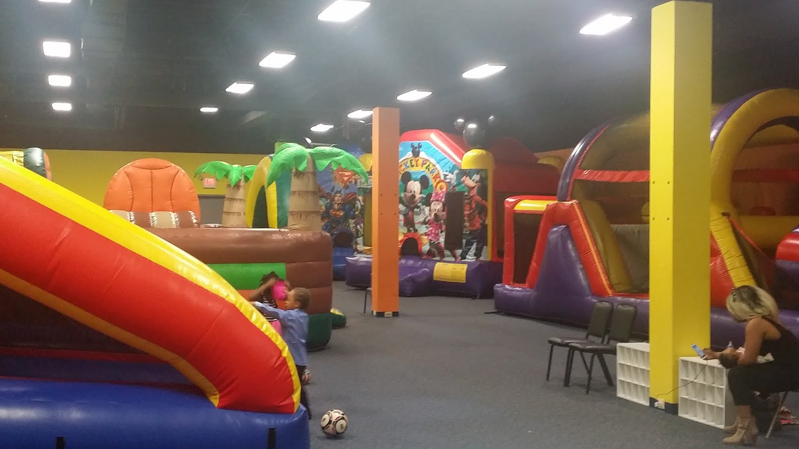 We Can Bring The Fun To Your Home Or You Have Party At Our 7000 Sq Ft Inflatable Playground