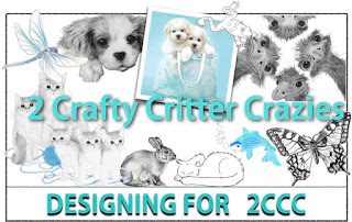 2 Crafty Critter Crazies Design Team Member