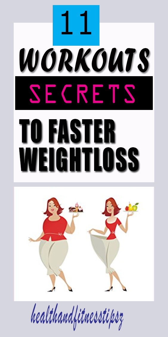 11 secrets to weight loss