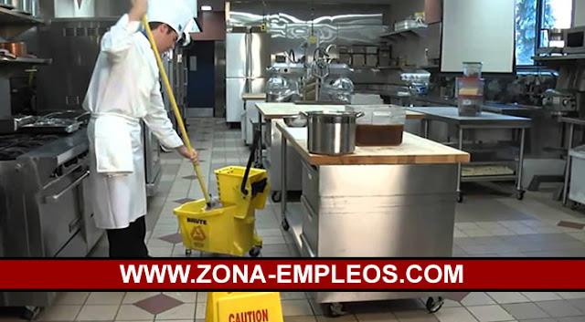 SE BUSCA PERSONAL DE COCINA Y LIMPIEZA PARA IMPORTANTE HOTEL