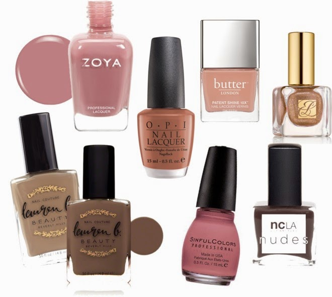 Best Nail Polish Colors For Medium Skin: Krisztina Williams Beauty: The Best Nude Polishes For Dark