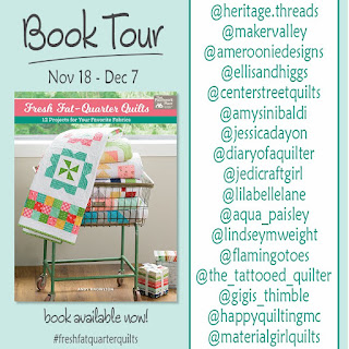 Fresh Fat Quarter Quilts book tour