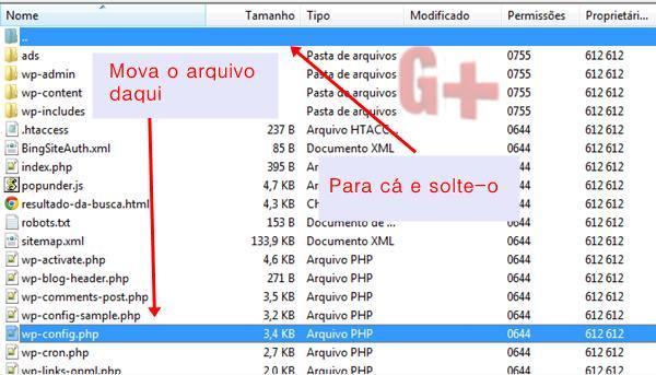 Wordpress .  Então, o que fazer para dificultar a localização do wp-config.php?