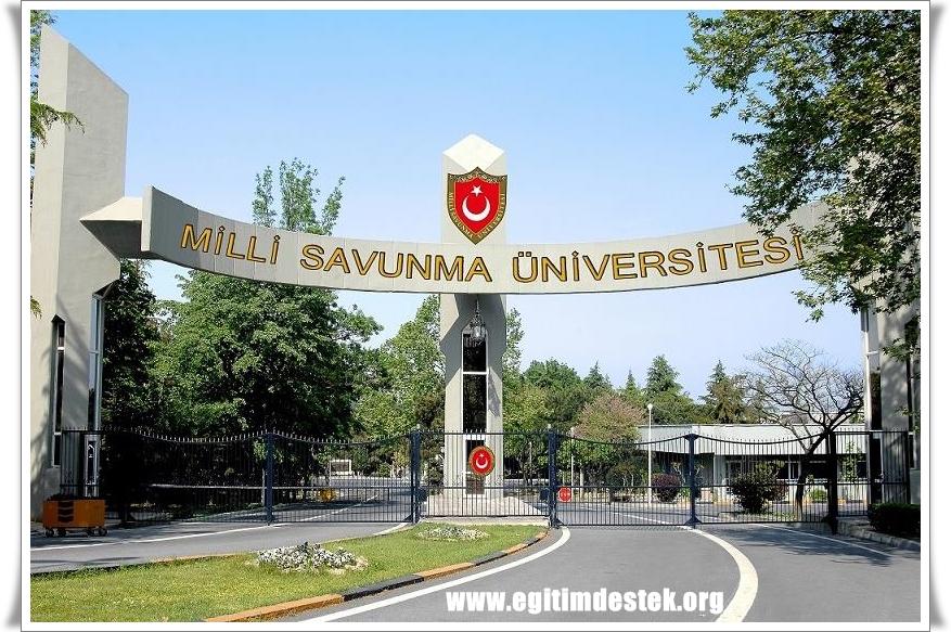 Milli Savunma Üniversitesi Harp Okulları Başvuru Kılavuzu