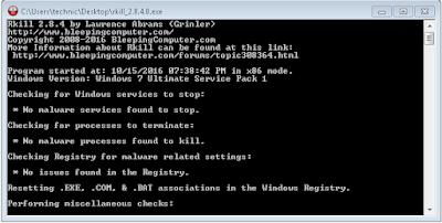 تحميل برنامج Rkill 2.8.4 لحدف الفيروسات وتنصيب برنامج الحماية