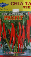 benih petani,tahan virus, buah lebat, Harga murah, cap kapal terbang, tahan layu, tahan cekaman calcium, Cabe Profit, Cabai Profit