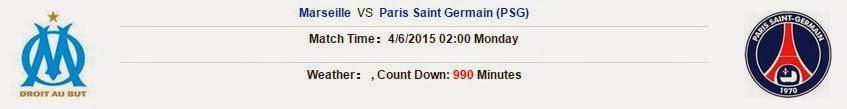Soi kèo Marseille vs Paris Saint Germain