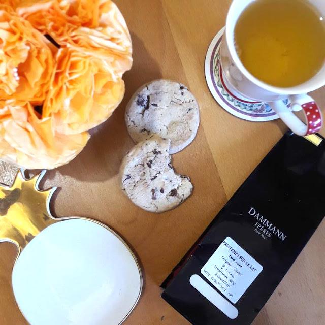 Easter tea Dammann Frères thé