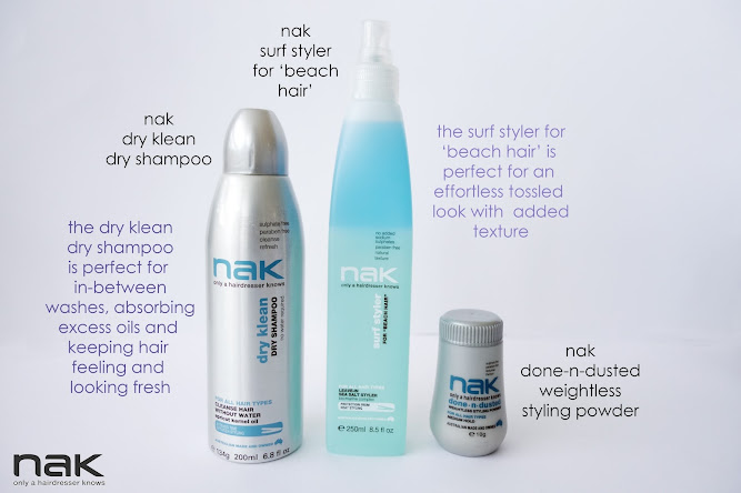 Nak Hair Products Surf Styler Sea Salt  Dry Klean Blog Review
