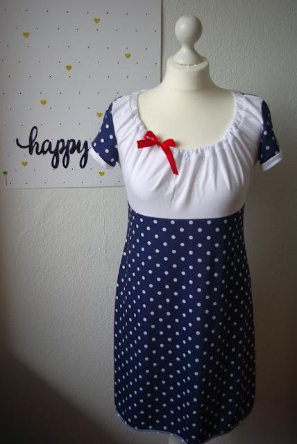 Nähblog: Kleid Ferrara von Schnittbox
