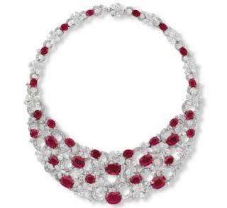 7. Etcetera's Burmese Ruby Necklace - $ 6,4 Juta