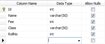 Insert record into Database using Gridview in Asp.net