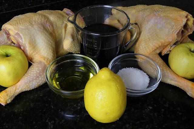 Pollo campero asado relleno
