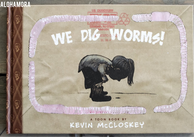We Dig Worms! by Kevin McCloskey is a non-fiction informational comic book for young kids.  The illustrations are well done and the subject matter is fun for boys and girls who love to dig around in the backyard.  This book earned 3.5/5 stars in my book review. Check the blog for more detail. non-fiction, worms, facts, information Fun, Alohamora Open a Book www.alohamoraopenabook.blogspot.com