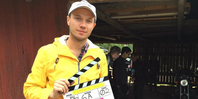 THE CABIN Director Johan Bodell