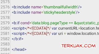 Memasang Script Safelink