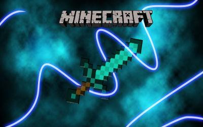 Minecraft Sword - Fond d'écran en Ultra HD 4K 2160p