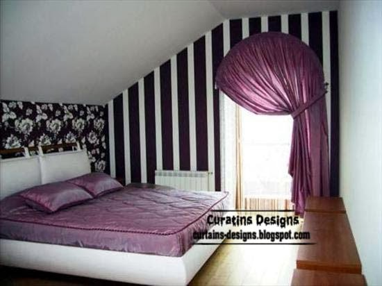 Arched Windows Curtain Designs Ideas For Bedroom Curtain
