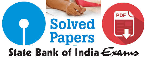 Sbi Po Previous Question Papers With Answers Pdf