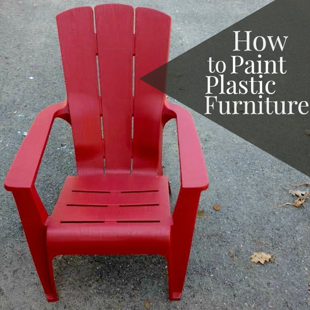 DIY: PAINTING PLASTIC FURNITURE Part 81