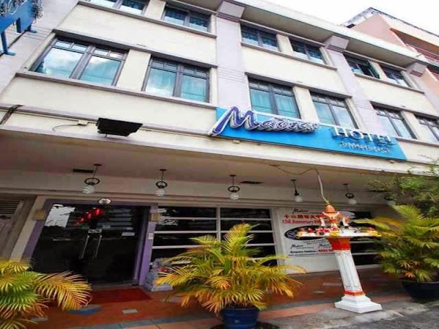 Madras Hotel Singapore