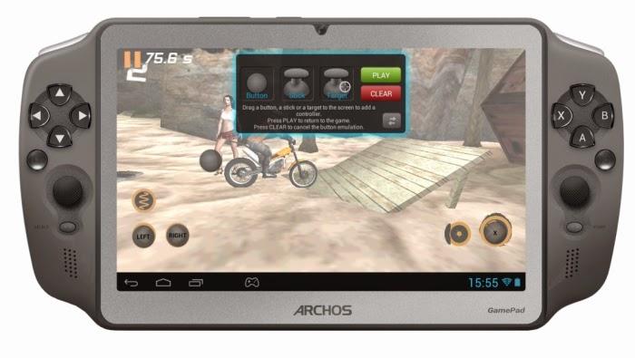 Tablet Archos GamePad, OS Android Untuk Bermain Games