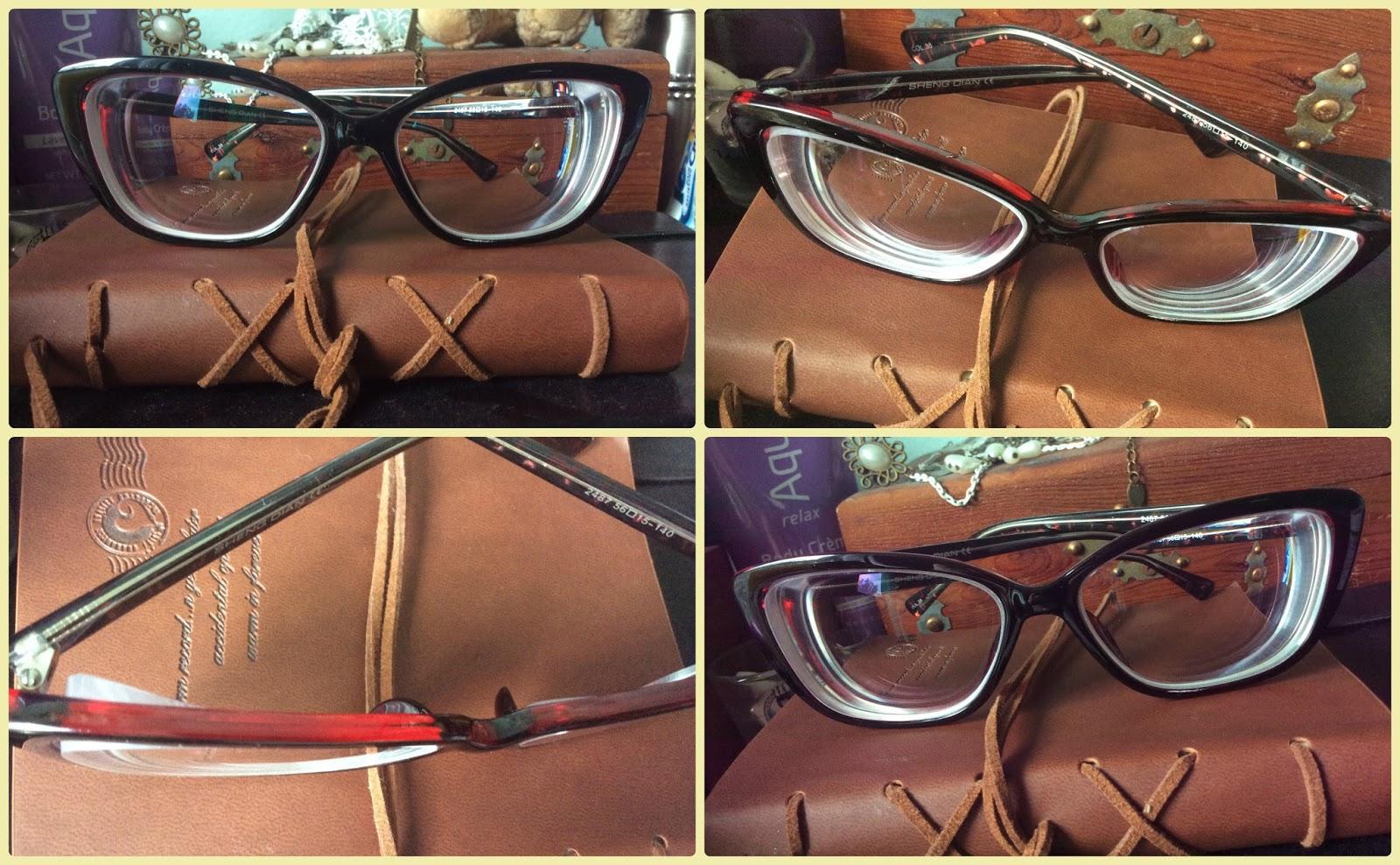 Nesca\'s Nook: My new Cat Eye Prescription Glasses from GlassesShop.com