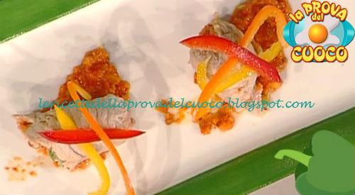 Braciole ripiene di peperoni ricetta Prova del Cuoco