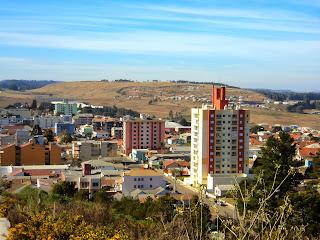 Cidade de São Joaquim Vista do Belvedere