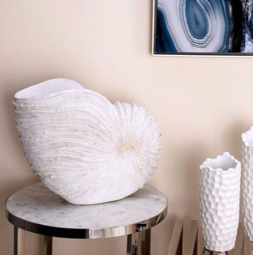 Large Sea Shell Vase