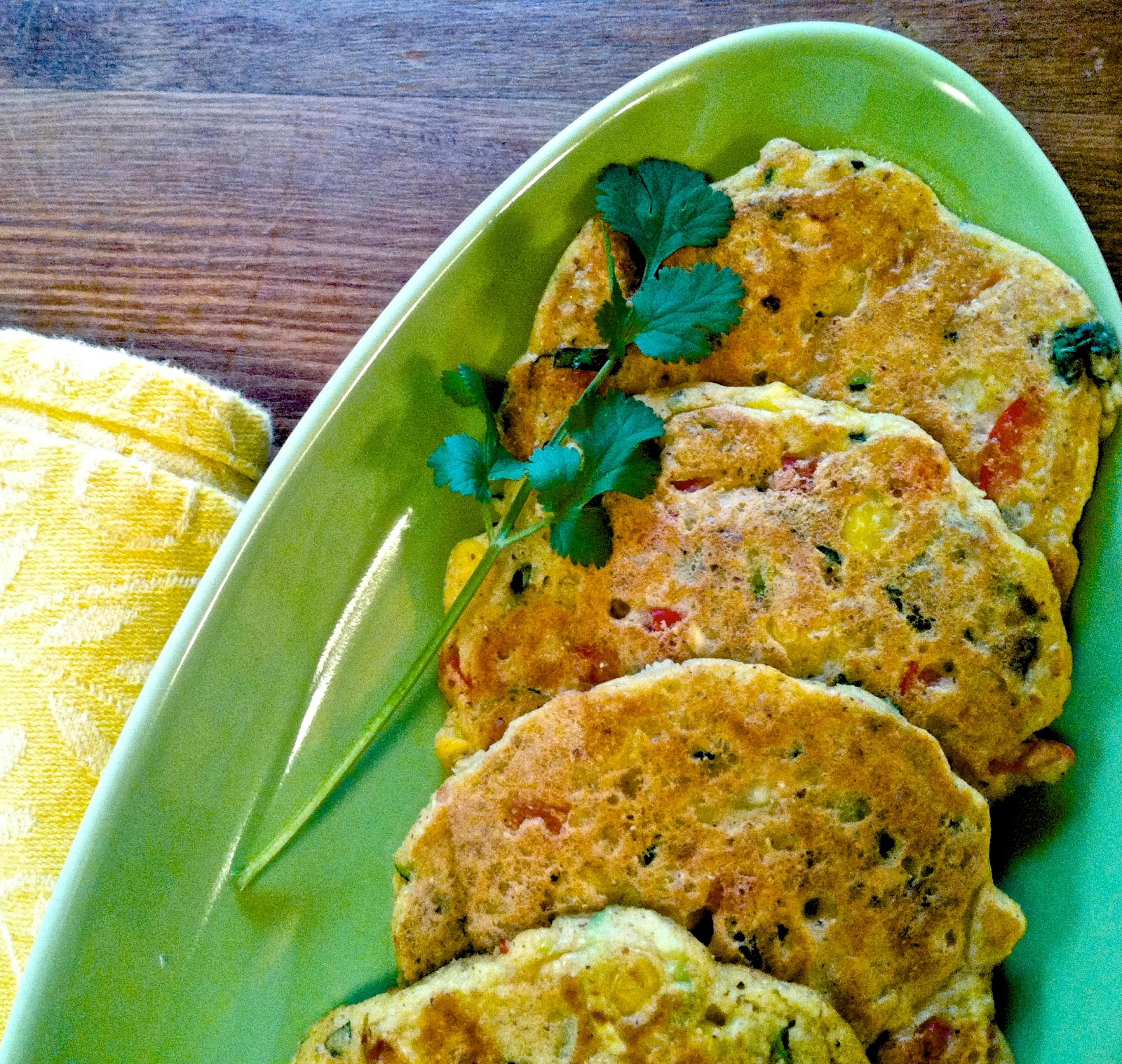 Vegan zucchini corn fritters helyns plant based kitchen vegan zucchini corn fritters forumfinder Images