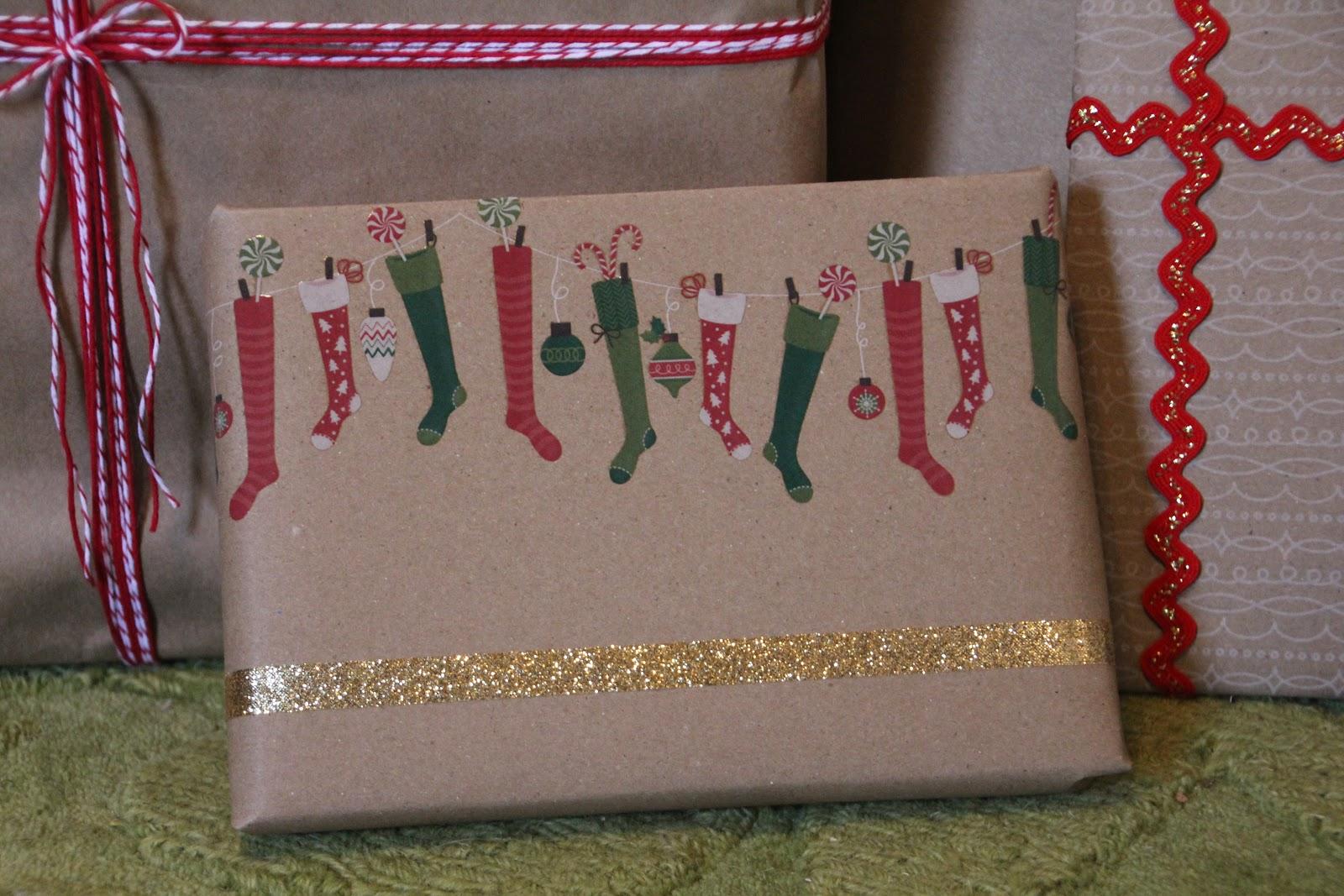 Lovely Little Life: Unique DIY Gift Wrap Ideas