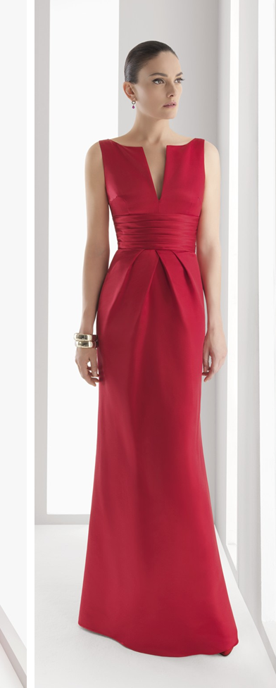 2d1c21d1e Patrón gratis  vestido de fiesta Rosa Clará (tallas 36-56) - yo ...