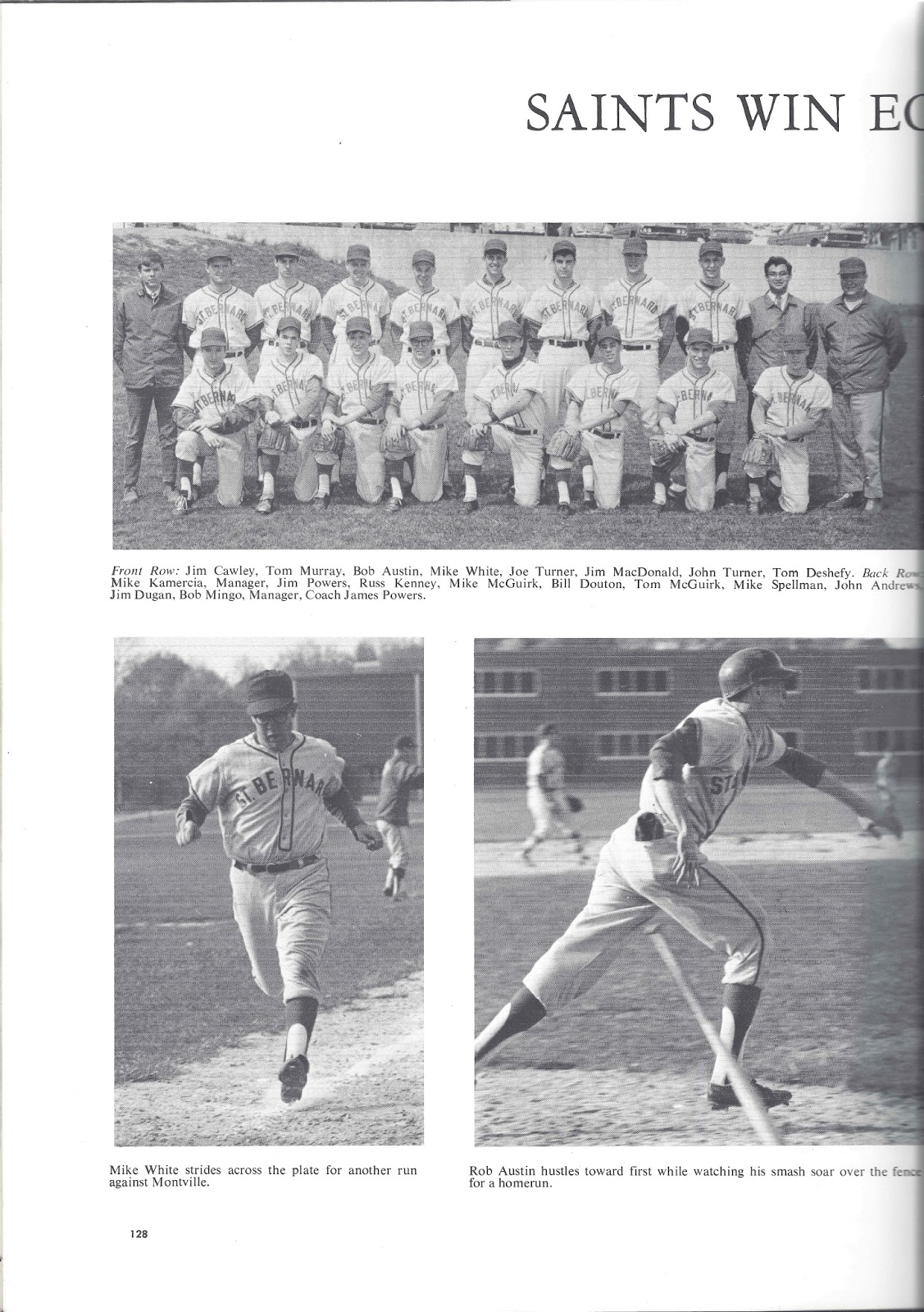 Saint Bernard High School Class Of 1967 Special Treat