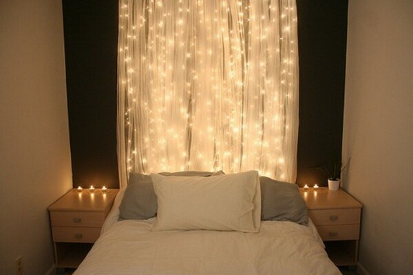 Beautiful Bedroom Christmas Lights