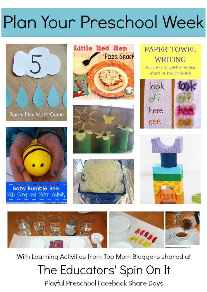 playful preschool lesson plans