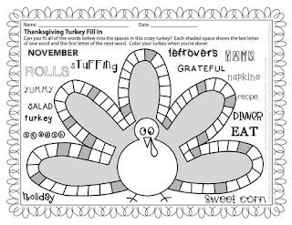 The Puzzle Den - Thanksgiving Turkey Puzzle
