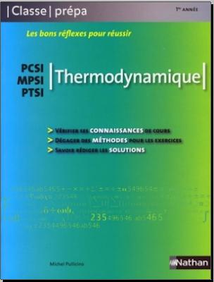Télécharger Livre Gratuit Thermodynamique - PCSI-MPSI-PTSI - Classe prépa pdf