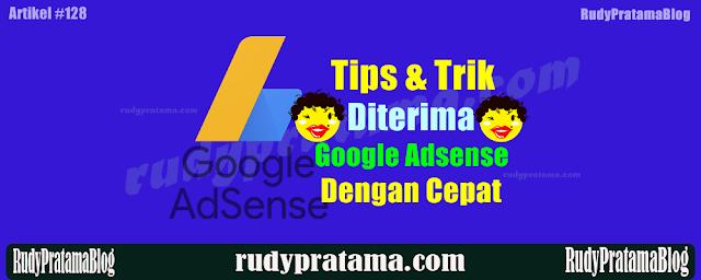 Cara mendapatkan persetujuan google adsense