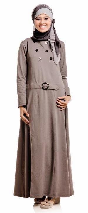 Baju muslim gamis muslim yang sopan dan anggun