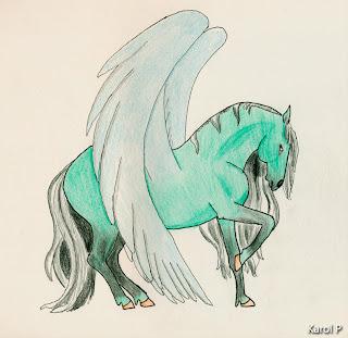 Blue Pegasus - Howrse Coat